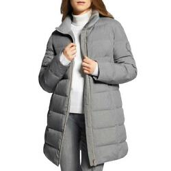 Basler Womens Outdoor 4 Down Midi Cold Weather Puffer Coat Outerwear Bhfo 8175
