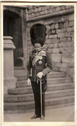 King George V Signed Photo Christmas Card Princess Patricia Of Connaught 1927