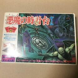 Bandai Devil's Clock Tower Game Used From Japan