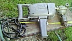 Vintage Dormeyer 1/2 Drive 4.0 Amp Heavy Duty Electric Drill Right Angle Pivots