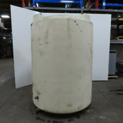 1000 Gallon Thick Poly Agriculture Industrial Vertical Storage Tank 64x64x94