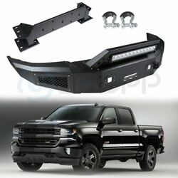 Front Steel Step Bumper Assembly For Chevrolet Silverado 2500 2015-2017
