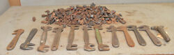 30 + Lbs Antique Horseshoe Caulks Collectible Wrenches Farriers Tool Lot Vintage
