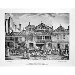 Manchester Views In The City In 1823 6x Large Format Reproductions Prints