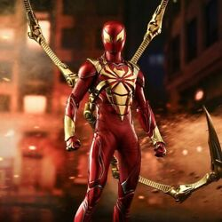 Hot Toy Marvel Spiderman Iron Spiderarmer 16 Collectable Figure Vgm38