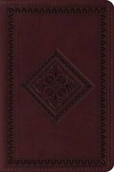 Holy Bible English Standard Versio... By Crossway Bibles Leather / Fine Binding