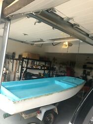 1968 Boston Whaler 13' With Trailer And 1968 Johnson 18 Hp Outboard Motor