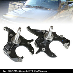 Pair2 2inch Front Drop Spindles Fit For 82-04 Chevrolet S10 Gmc Sonoma Jimmy