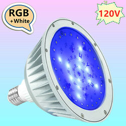 Led Pool Light 120v 40w Replacement Bulb For 500w Pentair And Hayward Fixture