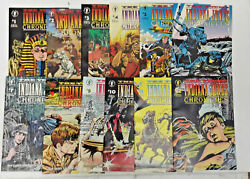 The Young Indiana Jones Chronicles1992 1-12 Complete Set Lot Full Run Dan Barry