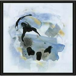 Cool Water Iv By Susan Jill Print On Canvas In Floating Oversized