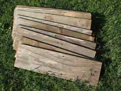 Reclaimed Old Fence Wood Boards,5 Fence Boards 20 Weathered Barn Wood Planks