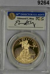 2017 W 50 Gold Eagle Pcgs Certified Pr70 Dcam 225th Anniversary Us Mint 9264
