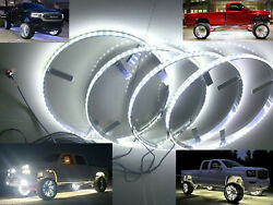 15.5 Crazy Bright Pure White Led Wheel Ring Light For Benz Bmw Audi Toyata Jeep