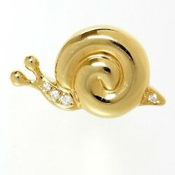 Mikimoto Pearl K18 5.8g Syggly Brooch Secondhand
