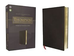 Nasb 1977 Thompson Chain Reference Bible Bonded Leather Black Brand New