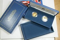 2020 400th Anniversary Of The Mayflower Voyage Two Coins Gold Proof Set