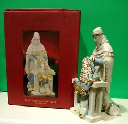 Lenox Nativity First Blessing Rug Seller 1st Quality New In Box