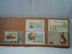 20 Antique Easter Post Cards Dated  1