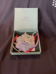Wallace 2010 Sterling Silver Snowflake Christmas Ornament
