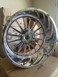 24x14 Custom Forged Wheels Bolt Pattern 6x5.5 Or 6x139.7in Stock Ready To Ship