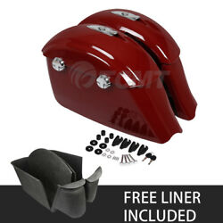 Saddlebag Electronic Latch Lid W/liner Fit For Indian Chieftain Dark Horse 16-18