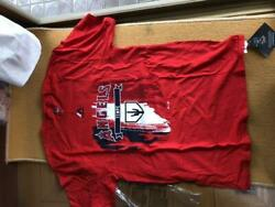 Shohei Ohtani Los Angeles Angels Men's T-shirt Red Size Small Jpn Free Shipping