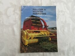 New Holland 718, 782, 892,707 Forage Harvesters Brochure 1982 20 Pages