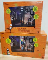 Jack Skellington And Sally Life Size Deluxe Animatronic Characters New In Box