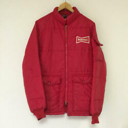 Budweiser/a Eaglec. Vintage Padded Jacket Made In Usa Size S