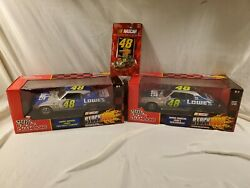 Stock Rods Jimmie Johnson 118 Chevelle And 1969 Camaro With 164 Die Cast Car