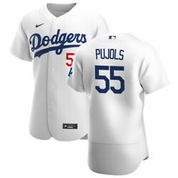 Los Angeles Dodgers Albert Pujols Nike White Official Authentic Player Jersey