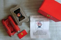 Ferrari Scuderia F1 Pit Crew Watch Red Face Limited Edition New In Box / Paperand039s