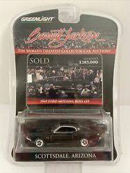 Greenlight Barrett-jackson Auctions-69andrsquo Ford Mustang Boss 429-new In Package Cb1