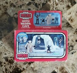 1982 Hoth Wampa Cave Star Wars Vintage Micro Collection New Sealed Misb
