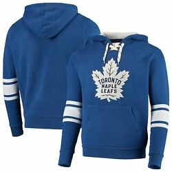 Toronto Maple Leafs Red Jacket Kinship Pullover Hoodie - Blue