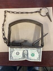 Stevens Snow Trap Trapping Fur Co Vintage