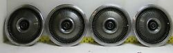 Used Oem Ford Set Of 4 15 Hub Caps C8vy-1130-a 1968-69 Lincoln Town Car 3208