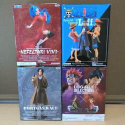 One Piece Anime Vivi, Sabo, Ace And Luffy Figure Set Of 4 From Japan Free Shipping