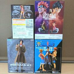 One Piece Anime Sabo, Ace And Luffy Figure Set Of 4 From Japan Free Shipping