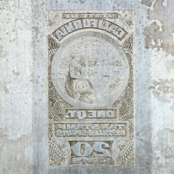 American Bank Note Company California Printing Plate State Seal