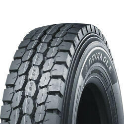 4 Tires Triangle Trd05 295/75r22.5 Load G 14 Ply Drive Commercial