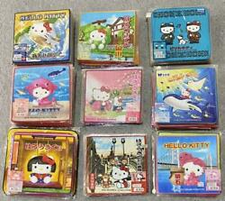 Sanrio Hello Kitty Mini Hand Towels Set Of 146 From Japan Free Shipping