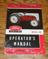 1948 1949 1950 1951 1952 Ford Tractor Model 8n Owners Operators Manual