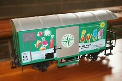 Urf41] Lgb G Scale 4128 Covered Freight Car R. Blank Graines Montreux Without Ob