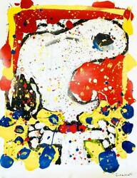 Limited To 500 Tom Everhart Squeeze The Day Friday With Autograph Snoopy