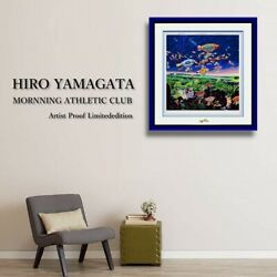 Hiro Yamagata Large-scale Prints Limited To 50 Parts Rare Artist Preservation