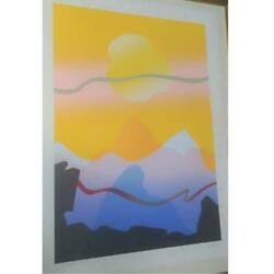 Secunda Works Good Morning 1985 Autographed Limited Edition Silkscreen True Work