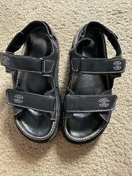 Dad Sandals 38 .vintage Peace Authentic Sign Of Wear Only Inside. Rare