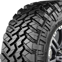 4 Tires Nitto Trail Grappler M/t Lt 265/70r17 Load E 10 Ply Mt Mud